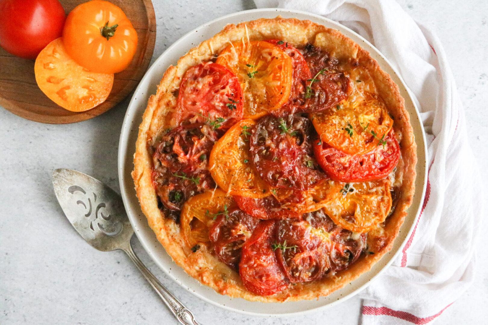Tomato Tart Landscape